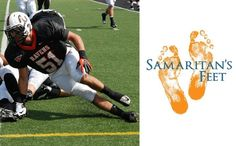 Anderson University football is helping to give shoes to children in need. Learn more: http://anderso.nu/samaritans-feet