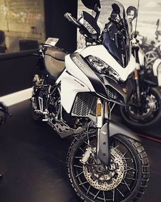 The not so baby Multistrada 950 has also come to pay us a visit for the next week! #Ducati #Multistrada #950 http://ift.tt/2iqBk1l