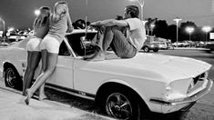 In the 1970s, Van Nuys Boulevard was the place to be for young people in Los Angeles.