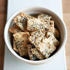 How To Make Crackers at Home ~ via www.thekitchn.com/how-to-make-crackers-at-home-cooking-lessons-from-the-kitchn-186144