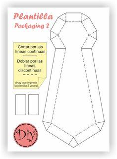 Diy Cajita Regalo - Packaging 2 (corbata)
