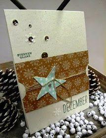 Stampin up, Weihnachtskarte, Sterne
