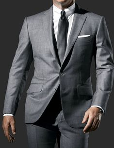 SF Mens Light Grey Suit is part of Light grey suits - Welldesigned Daniel Craig Suit with High Quality Grey Wool Fabric James Bond Skyfall Suits is a Best Deal to Avail MADE TO MEASURE to fit you perfectly Light Grey Suits, Grey Suit Men, Grey Light, Dark Blue, Mens Tall Sweatpants, Grey Suit Combinations, Daniel Craig Suit, Bond Suits, James Bond Suit