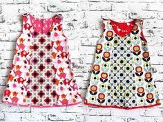 Heute zeigt Dir Alles für Selbermacher, wie Du auch als Anfänger kinderleicht ein Kleidchen aus Baumwolle nähen kannst.