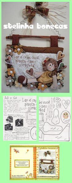 Felt Crafts, Fabric Crafts, Diy And Crafts, Fabric Dolls, Paper Dolls, Baby Fairy, Sewing Dolls, Kokeshi Dolls, Soft Dolls