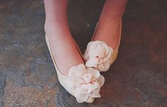 You'll look like a spring flower in these beautiful shoes.