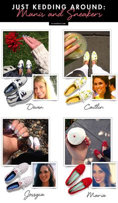 Just Kedding Around: Manicures and Sneakers