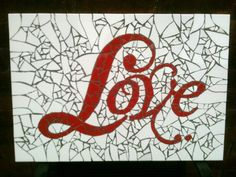 mosaic love - maybe for valentines day