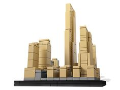 Undertake the largest private construction project in modern times with this real-world replica of the world-famous Rockefeller Center!- Lego