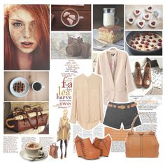 """Sweet Fall"" by stellazzurra ❤ liked on Polyvore"