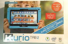 NEW Kurio Tab 2 Ultimate Tablet for Kids Exclusive Kurio Motion Game WiFi 8GB #Kurio