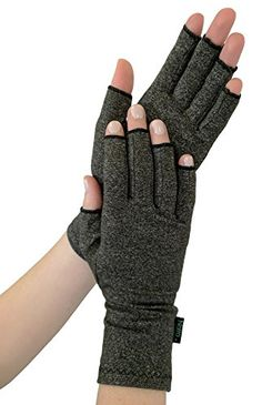 NatraCure Arthritis Compression Gloves - Large - (for Relief from Stiff Joints, Inflammation, Carpal Tunnel, and Rheumatoid & Osteoarthritis Pain) Cat Climbing Shelves, Arthritis Gloves, Carpal Tunnel, Spandex Material, Arm Warmers, Cool Hairstyles, Health And Beauty, Asian Cake, Vintage Quotes