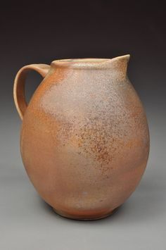 Anagama Fired Pitcher by justinlambert on Etsy