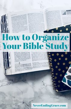 Is organization one of your goals for 2018? Start with organizing your Bible Study! Includes tips and Bible color coding system!