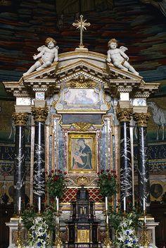 Rom, Piazza di Aracoeli, Santa Maria in Aracoeli, Hauptaltar (main altar)