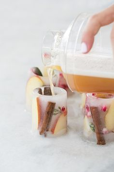 "Here's another easy and fun entertaining idea for you all! Since our floral ice buckets were so popular, we thought it would be ""cool"" (pun intended!) to make a mini version of ice shot glasses!! I can't stress enough how easy these are to make! They add such a charming touch when entertaining for even the smallest...read more"