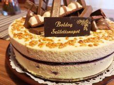 Meggyes fehércsoki torta Cream Cheese Flan, Mousse Cake, Pesto, Tiramisu, Healthy Snacks, Biscuits, Food Porn, Food And Drink, Baking