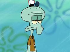We have been betrayed: Squidward from 'Spongebob Squarepants' is NOT a squid