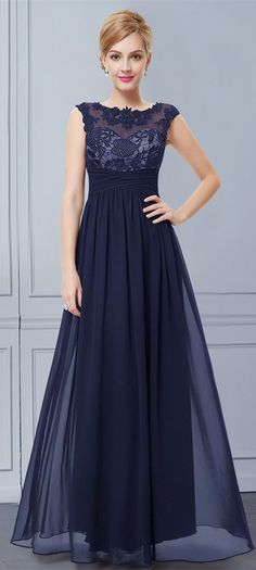 USD$79.99  Women's Elegant Maxi Lacy Evening Dress,Prom Dress Long,Dress for…