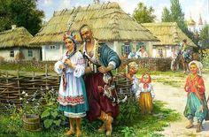 Трішки про традиції наших прадідів                                       Ставлення козаків до жінки  По поведінці жінки (чи то мати, сестра або дружина) оцінювався сам козак в тій же мірі, як і сам ставився до них. Дотримуючись християнської доктрини, козаки пам'ятали: «Так буде боятись дружина чоловіка свого». При цьому зберігалися вікові устої: чоловік не втручався у справи жінки, а жінка – у справи чоловіка. Обов'язки були строго розмежовані, і займатися чоловікові жіночою справою було…