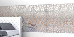 Voor wil echt iets bijzonders zoekt voor op de vloer en wand zijn er nu de tegels van Decotal. Deze tegels zijn namelijk een combinatie van beton en metaal. En zeker wanneer je de ontwerpen op de tegels door laat lopen, ontstaan er prachtige grafische patronen.