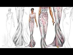 The person is completely talented. I hope that later in my fashion career I could draw like this. First I need to find the proper materials.