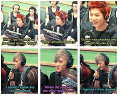 "lol that is my motto ""I learned it from dramas"" know we know Tao watches K-dramas too XD"