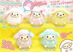 Baby Wooly Baby Wu Ryi Ram Sheep Keychain 9cm