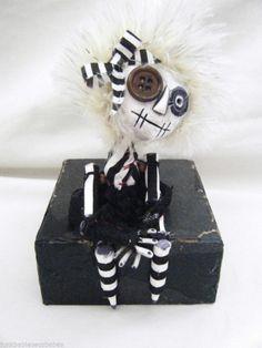 Hand Made Gothic Rag Art Doll Button Eye Frankenstein - Alternative Gift & Box    http://cgi.ebay.co.uk/ws/eBayISAPI.dll?ViewItem&item=111304971376