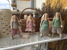 Zajíci -ruční výroba -šití