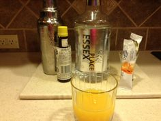 Abby Cocktail- 2 ounces gin, 1 ounces Crystal Light orange , 2 dashes of bitters. Shake with ice and strain into glass. I give it a 4 out of Low Carb Cocktails, Party Drinks, Light Orange, Red Bull, Happy Hour, Gin, Shake, Good Things, Canning