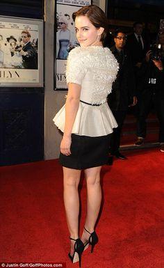 Emma Watson In Jason Wu, 'My Week with Marilyn' premiere, 20. November 2011