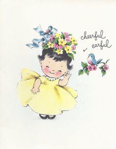 ღ Greeting Note Card Vintage Greeting Cards, Vintage Ephemera, Vintage Paper, Vintage Postcards, Vintage Art, Stencil Patterns, Pattern Art, Baby Frame, Bird Cards