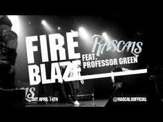 RASCALS - Fire Blaze (feat. Professor Green) Official Audio Professor Green, Uk Music, Broadway Shows, Audio, Fire, Album, Card Book