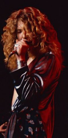 Robert Plant -- Led Zeppelin ~ Photo via Pinterest Board James Dylan