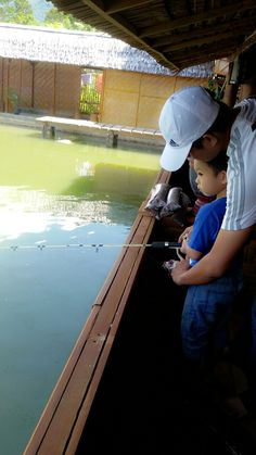 Daddy's day out. Fishing time