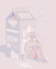 boy, art y Hot imagen en We Heart It Pretty Art, Cute Art, Aesthetic Art, Aesthetic Anime, Manga Art, Anime Art, Character Art, Character Design, Korean Anime