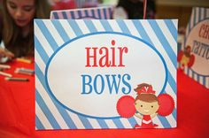 Great Craft Idea for Cheerleading Party! Make adorable Hair Bows! That Party Chick! Cheer Birthday Party, Cheer Party, Cheerleader Party, 7th Birthday, Butterfly Party Decorations, Monster High Party, Cheerleading, Party Time, Party Invitations