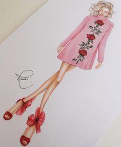 nice Rosie H-W in Dolce & Gabbana by @nivearomanini_work| Be Inspirational ❥|Mz... by http://www.polyvorebydana.us/fashion-sketches/rosie-h-w-in-dolce-gabbana-by-nivearomanini_work-be-inspirational-%e2%9d%a5mz/