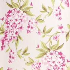 Clarke & Clarke Wisteria Double Roll Wallpaper in Mauve Wallpaper Decor, Wallpaper Online, Wallpaper Backgrounds, Home Upgrades, Traditional Wallpaper, Wisteria, Textile Prints, Designer Wallpaper, Traditional House