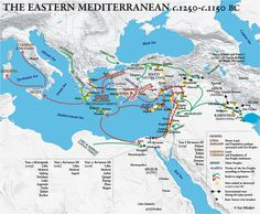 The Eastern Mediterranean c.1250-c.1150 BC ~ Ian Mladjov