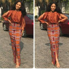 60 Hottest And Stylish Ways To Slay Ankara African Print Dresses: Ankara Styles For The Slay Queens. The Versatility Of Ankara Can Never Be Overemphasized Be. African Print Dresses, African Print Fashion, Africa Fashion, African Fashion Dresses, Fashion Outfits, Womens Fashion, African Prints, Ankara Fashion, Ghanaian Fashion