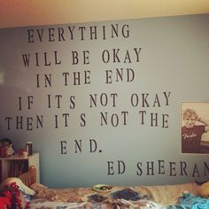 1000+ images about Ed ... Ed Sheeran Wall Quotes Tumblr