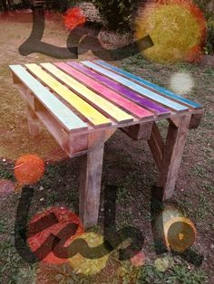 DIY : Une palette revisitée en jardinière | Rouleau de peinture ...
