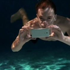 """Sony's new smartphone can be used underwater! My girlfriend said """"I don't really need to ring people underwater."""""""