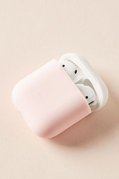 Elago Duo AirPods Case by elago in Pink, Stationery at Anthropologie Airpods Apple, Apple Pin, Ios Apple, Accessoires Iphone, Air Pods, Airpod Case, Cute Cases, Iphone Accessories, Womens Fashion Online