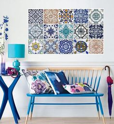 "Deco-friendly | ""Azulejos"" adhesivos 