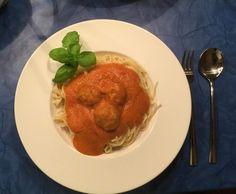 Rezept Albertos Spaghetti mit Meatballs - angelehnt an das berühmte Rezept von Mamma Leone aus New York von Mixtastisch - Rezept der Kategorie Hauptgerichte mit Fleisch