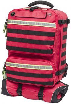 Elite Bags PARAMED´S EVO Notfallrucksack rot Individuell erweiterbarer Notfallruckack mit MOLLE-System für die professionelle Notfallversorgung. Klassische Aufteilung des...
