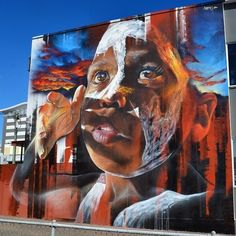 Based in Melbourne, Adnate has evolved from his roots in graffiti art to become one of the world's foremost large-scale portrait artists. Heavily influenced by renaissance painters like Caravaggio, he utilizes spray paint to carry his realist style into what many would regard as the fine art realm.  #Melbourne #Adnate #graffitiart #portraitartists #renaissance #spraypaint #streetart #artworks #streetartists #murals #allpublicart